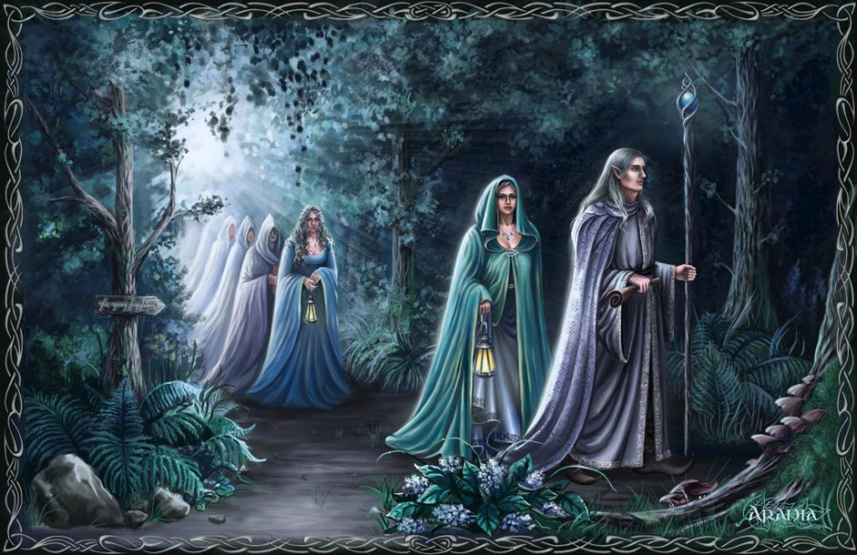 Araniart_-_Elves_leave_Middle-earth